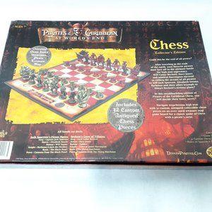 Disney Pirates of the Caribbean Chess Set